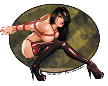 Bound for You Pin-up Girl Chyna Sticker
