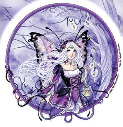 Whimsical Hanging Lights Fairy Sticker