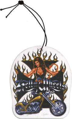 Biker Babe Pin-up Air Freshener