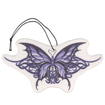 Tribal Butterfly Review Mirror Ornament