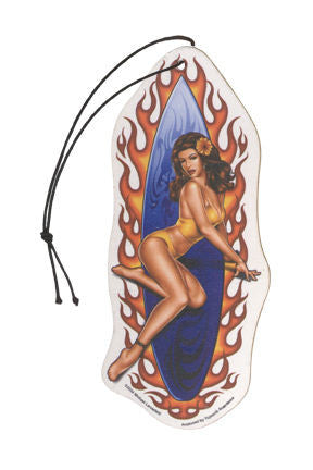 Sexy Surfer Girl Air Freshener