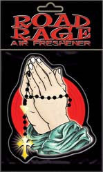 Pray Rosary Air Freshener
