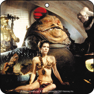 Princess Leia Jabba the Hut Air Freshener