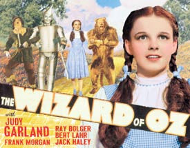 The Wizard of Oz Movie Novelty Tin Sign
