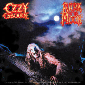 Bark at the Moon Cover Ozzy Osbourne Sticker
