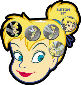 Tinker Bell Button Collection