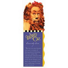 The Wizard of Oz Cowardly Lion Bookmark