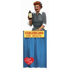 Vitameatavegamin I love Lucy Retro Bookmark
