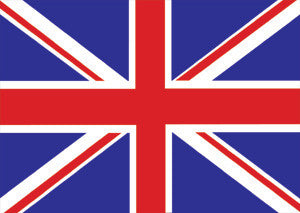 Union Jack Flag Postcard