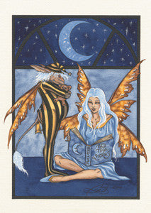Amy Brown Fairy Art Postcard #10 Fairy Bedtime Stories