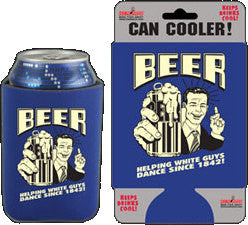 Helping With Guys Dance Beer Can Cooler