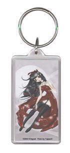 Art Keychain by Krisgoat Dark Valentine