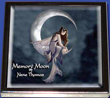 Memory Moon Fairy Compact Mirror