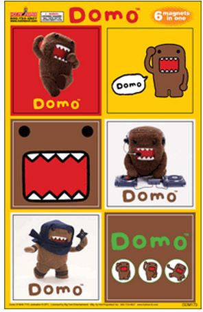 Domo-Kun Magnets Collectors Set