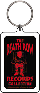 Death Row Records Keychain