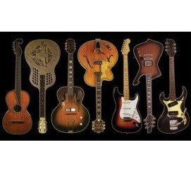 Style of Guitars Sticker