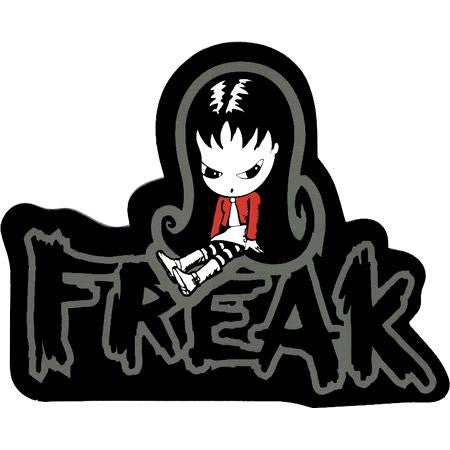 Sugar Hiccup Goth Girl Freak Sticker