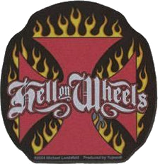 Hell on Wheels Biker Antenna Topper