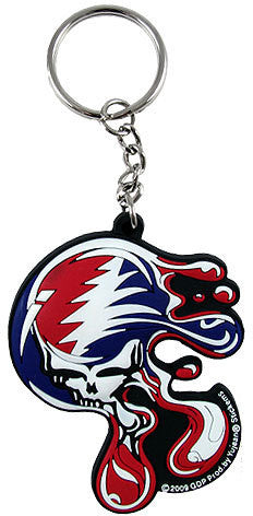 Melt Your Face Grateful Dead Keychain