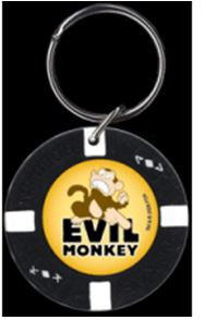 Family Guy Evil Monkey Keychain