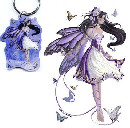 Violet Melody Fairy Keychain Sticker Gift Set