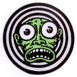 Creepy Green Dude Patch