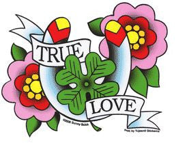 True Love Heart Sticker