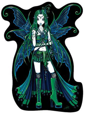 Zoe Gothic Fairy Sticker