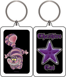 Alice in Wonderland Star Cheshire Cat Keychain
