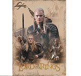 Lord of The Rings Movie Sticker
