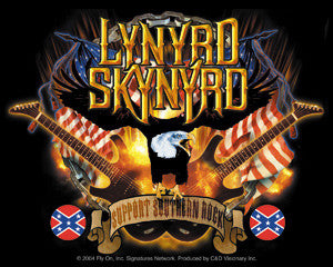 Guitars Eagle Lynyrd Skynyrd Sticker
