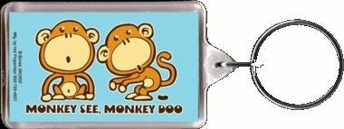 Chimp Monkey Doo Keychain