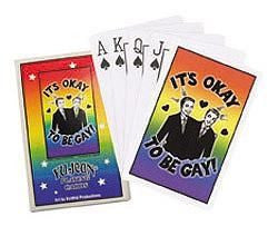 Cute Gay Playing Cards