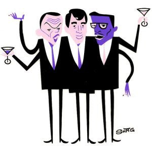 Rat Pack Sticker