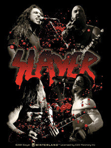 In Concert Splatter Slayer Sticker