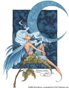 Blue Moonwatcher Fairy Sticker