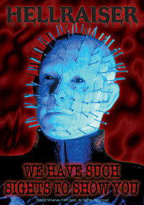 Hellraiser Pinhead Sticker