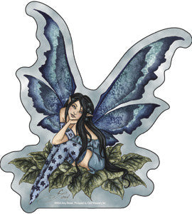 Teal Blue Fairy Sticker