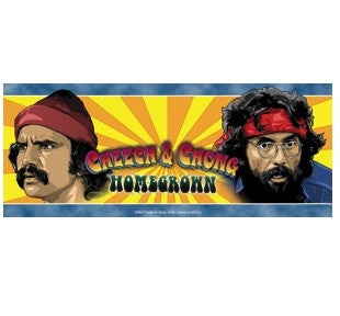 Cheech and Chong Homegrown Bumper Sticker