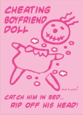 Cheating Boyfriend Voodoo Magnet