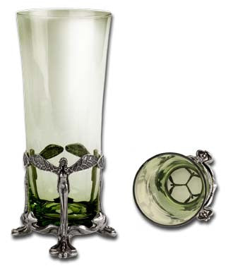 Absinthe Forest Fairy Glass Tumbler