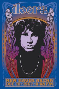 The Doors New Haven Poster Mini Sticker