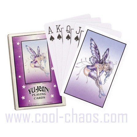 Purple Star Fairy Playing Cards