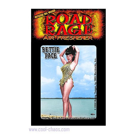 Beach Bettie Page Air Freshener