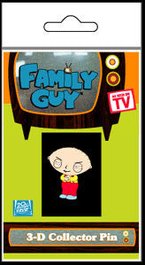 Family Guy 3D Stewie Collectors Button