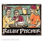 Sexy Relief Pitcher Beer Sign