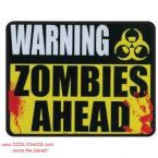 Warning Zombies! Zombie Car Magnet