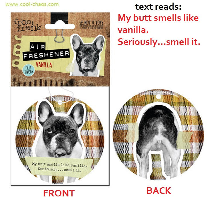 Bad Dog, Naughty Dog Boston Terrier Air Freshener