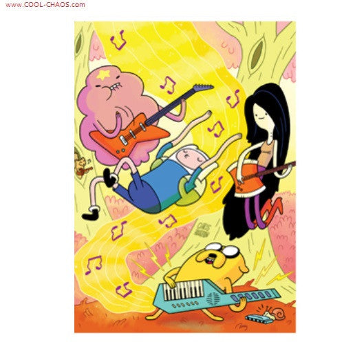 Adventure Time Rock Band Magnet