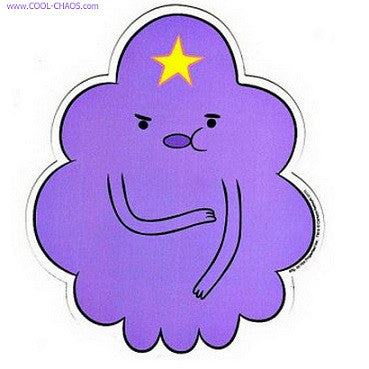 Adventure Time LSP Lumpy Space Princess Car Magnet